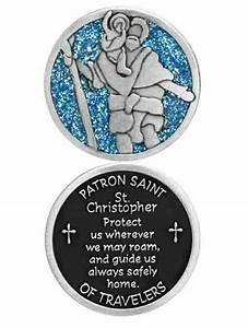 Saint Christophe Patron : companion coin st christopher patron saint of travelers w message prayer 34m ebay ~ Medecine-chirurgie-esthetiques.com Avis de Voitures