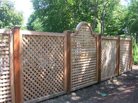 lattice fence unique wood fence designs wood lattice alternating