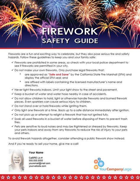 farm firework safety guide  tuesday journal