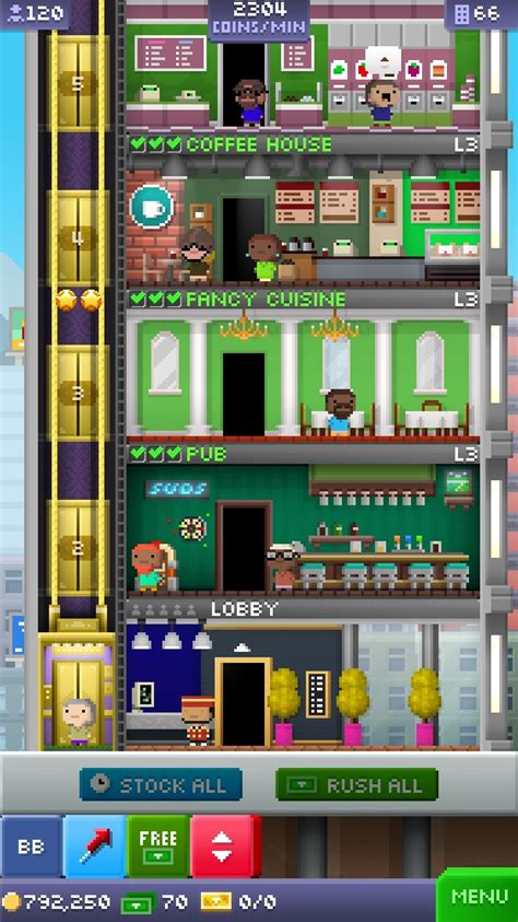Tiny Tower Floors 2017 by Tiny Tower 5 Year Anniversary Update Is Now