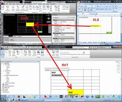 Excel Revit Link Spreadsheet Data Into Worksheet