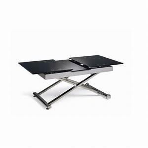 Table Basse Relevable MARSEILLE Et Tables Basse En Verre