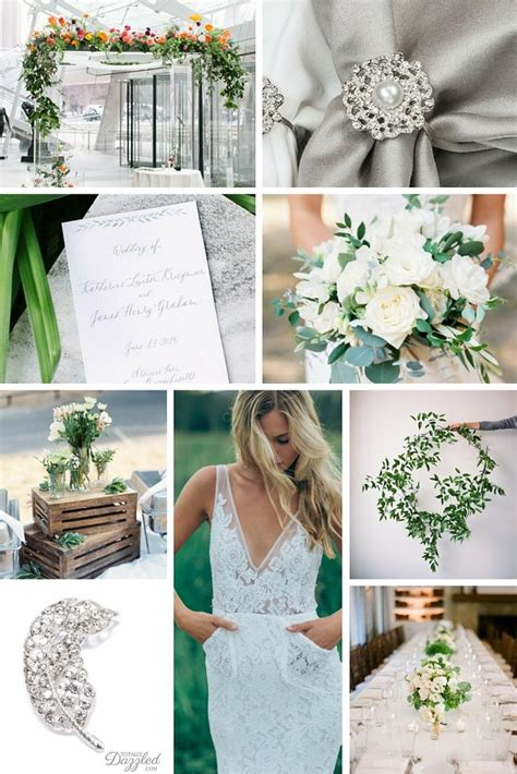 Greenery Wedding Theme and Color Inspiration Totally Dazzled