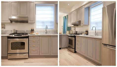 Repainting Kitchen Cupboards by Beginner S Guide To Kitchen Cabinet Painting Home Grey