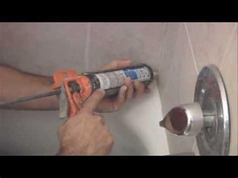 how to re caulk a shower how to re caulk a shower