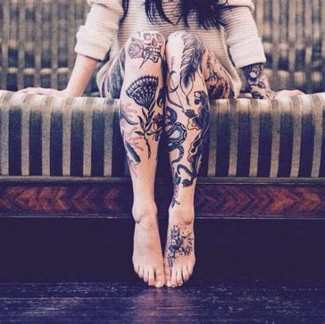 Sexy Girls Who Like Ink Are Irresistible Pics
