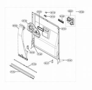Lg Ldf5545ww  00 Dishwasher Parts