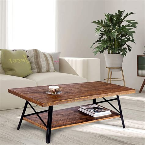 Squares or round coffee tables are good for large seating configurations, such as large sectionals or a large sofa and love seat. The Top 10 Best Coffee Tables for Sectionals (2020)
