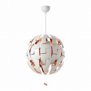 Ikea Lampe Anschließen : ikea ps 2014 pendant lamp white copper color ikea ~ A.2002-acura-tl-radio.info Haus und Dekorationen