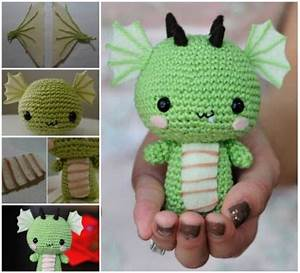 DIY Crochet Baby Dragon Pictures, Photos, and Images for