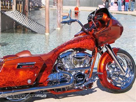 Harley Davidson Road Glide Custom Bagger With Tons Of