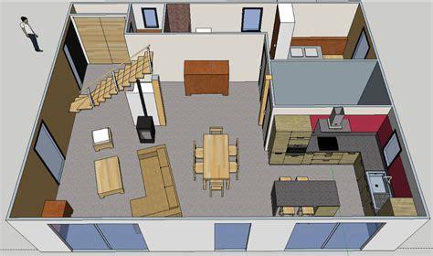 cuisine bois massif dessine moi une maison sketchup
