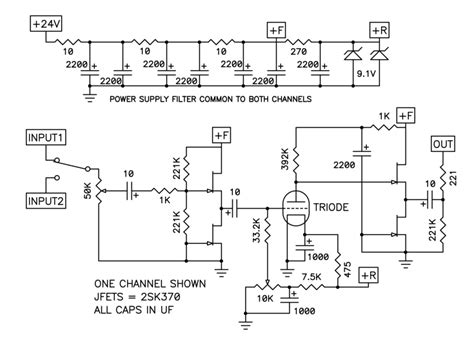 Nelson Pass Nutube Buffer Circuit Very Simple All