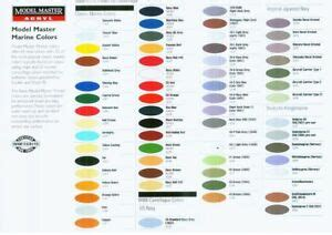 testors marine colors acrylic paint 6 assorted colors ebay