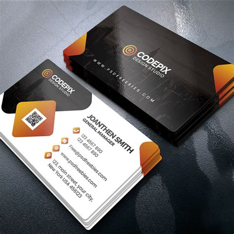 code business card design crtify
