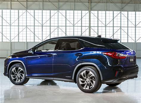 lexus sedans 2016 2016 lexus rx 350 rx 450h new york auto show consumer