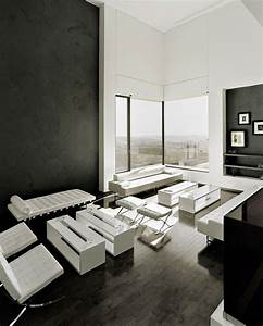 Schwarz Weiße Möbel Welche Wandfarbe : wandfarbe schwarz 59 beispiele f r gelungene innendesigns fresh ideen f r das interieur ~ Bigdaddyawards.com Haus und Dekorationen