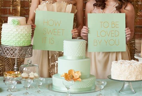Mint And Gold Wedding Ideas Wedding Inspiration 100