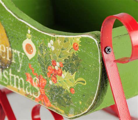 2015 christmas gift sleigh car wholesale christmas craft
