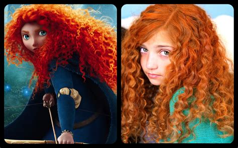 Get Merida's Fiery and Curly Red Hair | Disney Princess ...