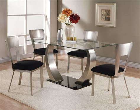 Glass Dining Table Sets by Camille 8mm Clear Glass Dining Table Set Lowest Price