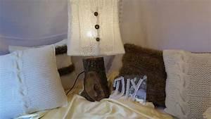Lampe Mit Holzfuß : diy strick idee eine lampe lampenschirm mit coolen holzfu home deko 1 youtube ~ Eleganceandgraceweddings.com Haus und Dekorationen