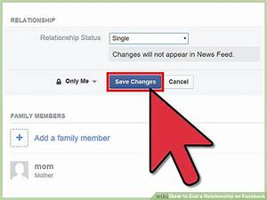 How to End a Relationship on Facebook: 11 Steps (with ...