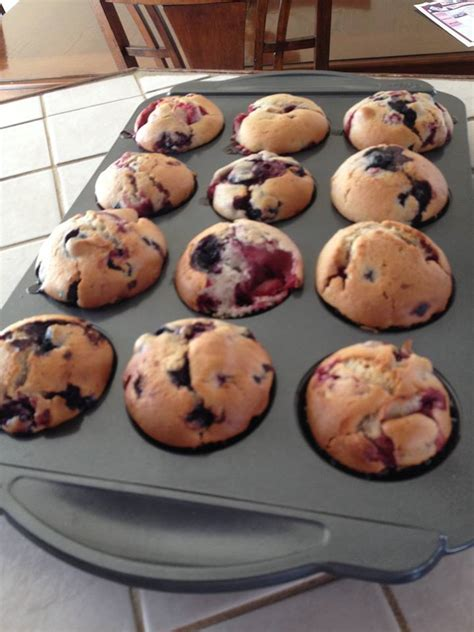 recette muffin explosion de fruit style tim hortons