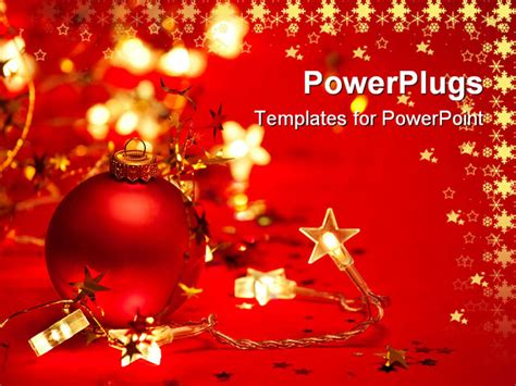 xmas  template christmas powerpoint templates images