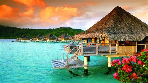 French Polynesia Wallpaper Pictures To Pin On Pinterest