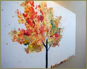 Fall Tree Painting