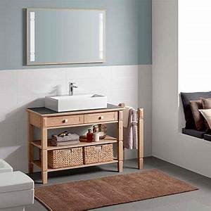 Meuble De Salle De Bain En Bois Massif : best meuble salle de bain bois brut pictures awesome ~ Edinachiropracticcenter.com Idées de Décoration