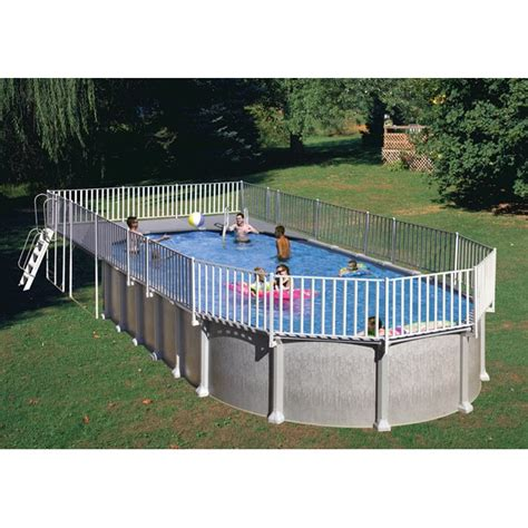 Above Ground End Deck (for 15 X 30 Oval Pool) Free