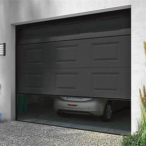 Prix Location Garage : porte de garage sectionnelle motoris e turia anthracite porte de garage castorama ventes pas ~ Medecine-chirurgie-esthetiques.com Avis de Voitures