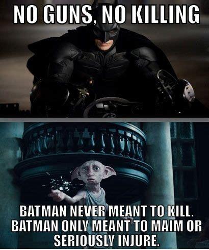 Batman Funny Meme - dobby kill quotes quotesgram