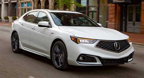 2019 Acura Tlx In Showrooms April 4 From $33,000, Gets New