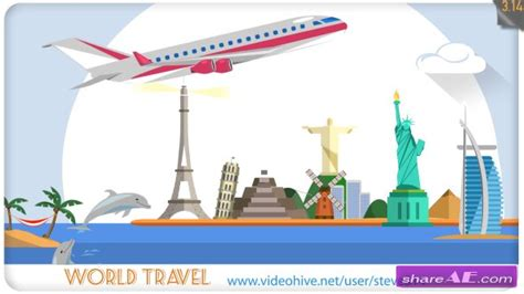 Travel Agency Advert Videohive Free Download After Effects Template by Vacations 187 Free After Effects Templates After Effects