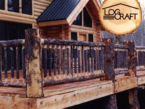 railings log craft