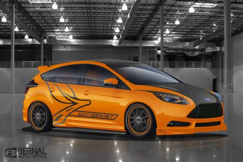 St Car by Ford Announces 5 Custom Focus St Tuned Cars For Sema