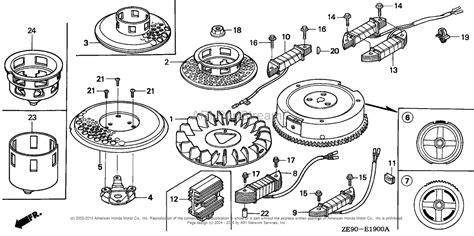 honda engines gxv340 da3 engine jpn vin gj02 1000001 to gj02 1009980 parts diagram for flywheel
