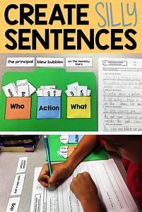 Expanding Sentences Activities  Lesson Plans  Centers
