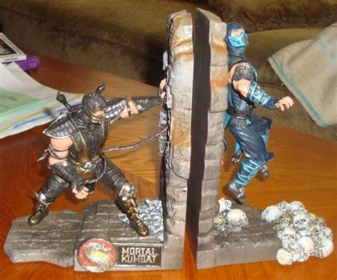 Mortal Kombat 9 Bookends ? Gadgets Matrix