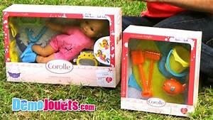 Bébé Corolle Youtube : jouet poupon mon premier b b bain et accessoires corolle d mo jouets youtube ~ Medecine-chirurgie-esthetiques.com Avis de Voitures