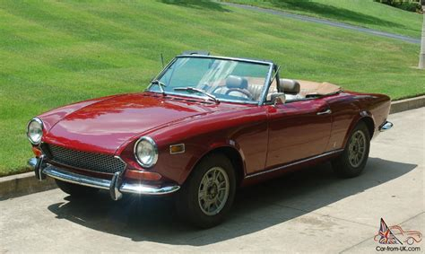 1974 Fiat Spider by 1974 Fiat Spider For Sale Car Info