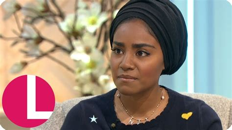 Bake Offs Nadiya Hussain On The Difficulties Of Being A Parent With Anxiety Lorraine Youtube