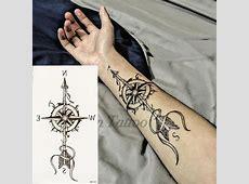 Tatouage Fleche Boussole Femme Tattoo Art