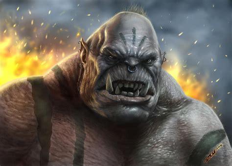 Ogre Painting by robertmarzullo on DeviantArt