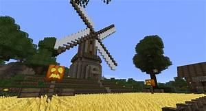 minecraft - windmill by schattenw0lf on DeviantArt