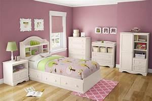 White, Bedroom, Furniture, For, Girls