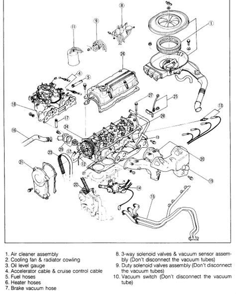 Mazda Carburetor Diagram Engine